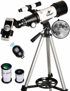 Gskyer 70mm Aperture 400mm AZ Mount Astronomical Refractor Telescope