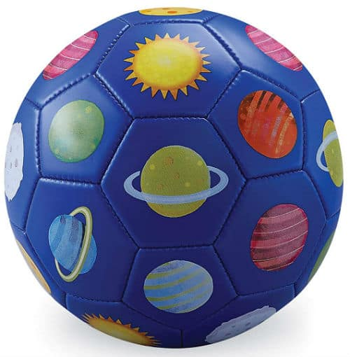 Crocodile Creek 2214-1 3 Blue Soccer Ball Solar System
