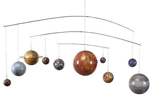 Planets Mobile - Hanging Solar System Mobile