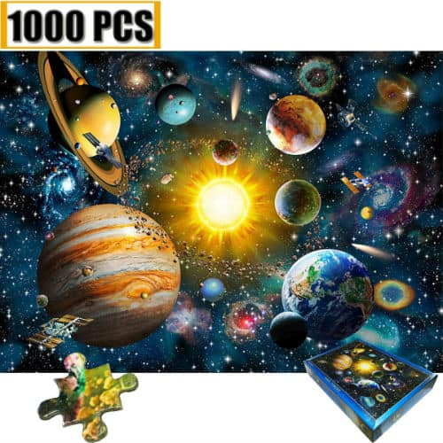 Puzzles Universe Spacecraft Children Educational