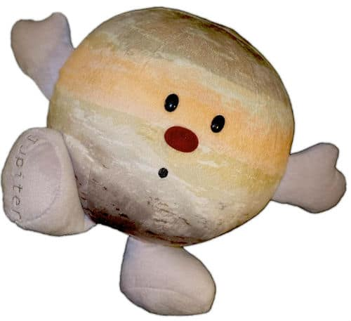 Solar System Plush- Planet Jupiter Stuffed Toy