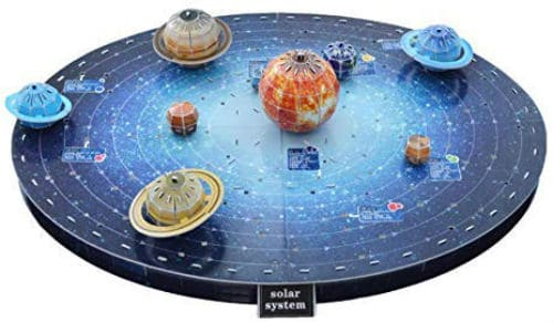 Space Kids Solar System Outer Space 3D Puzzle Educational Toy