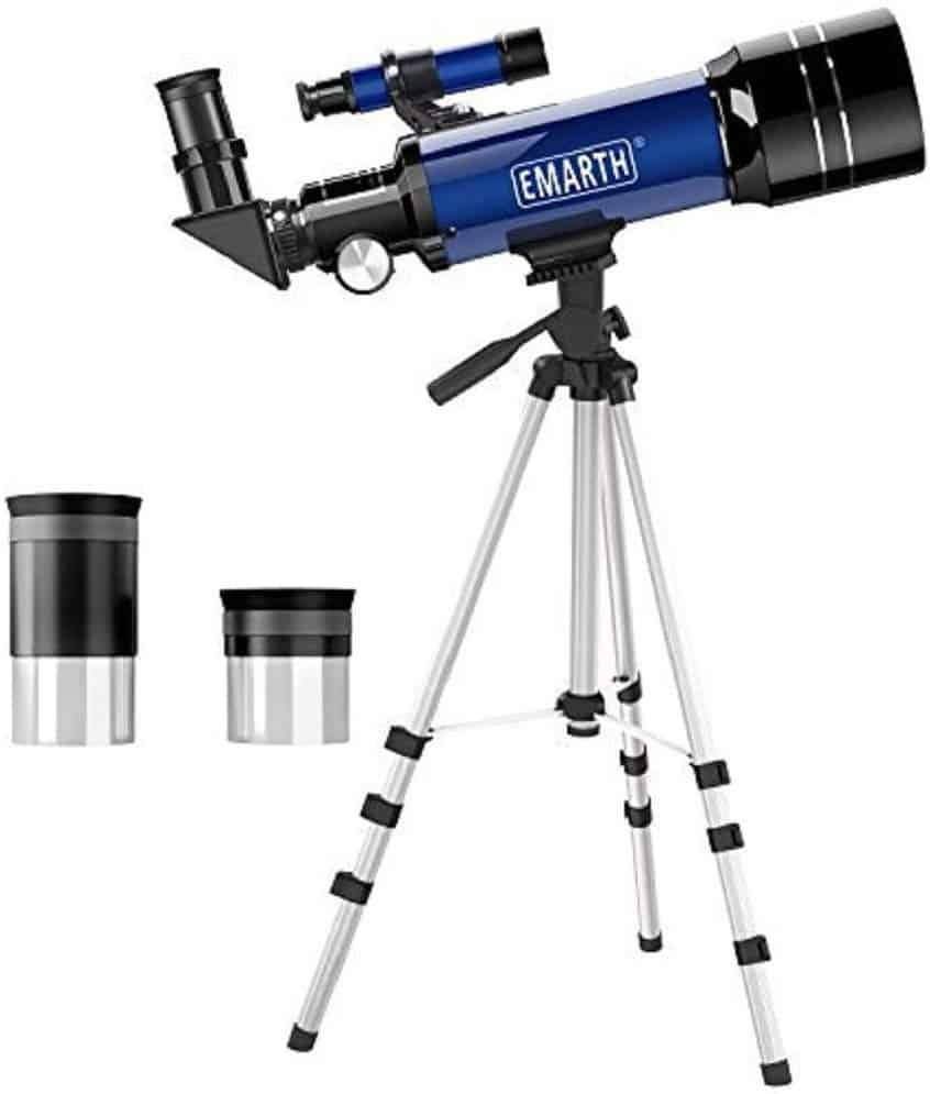 Emarth 70mm Astronomical Refractor Telescope
