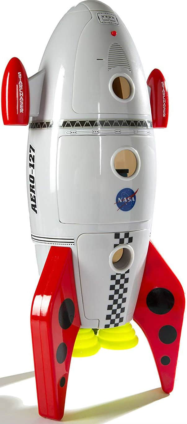 CP Toys Plastic Space Mission Rocket Ship