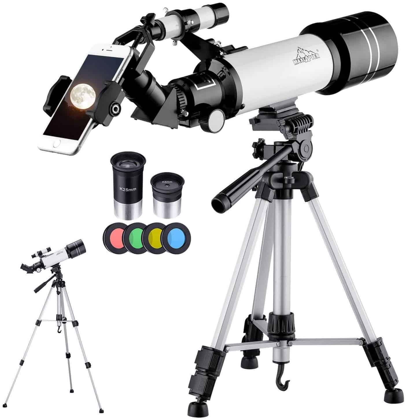 MAXLAPTER Telescope for Kids and Beginners