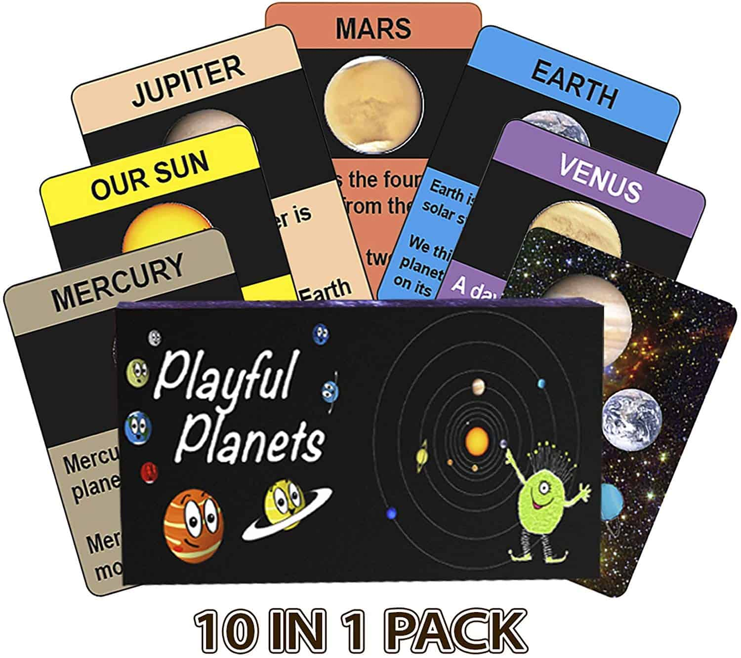 Playful Planets Classic Card Games for kids