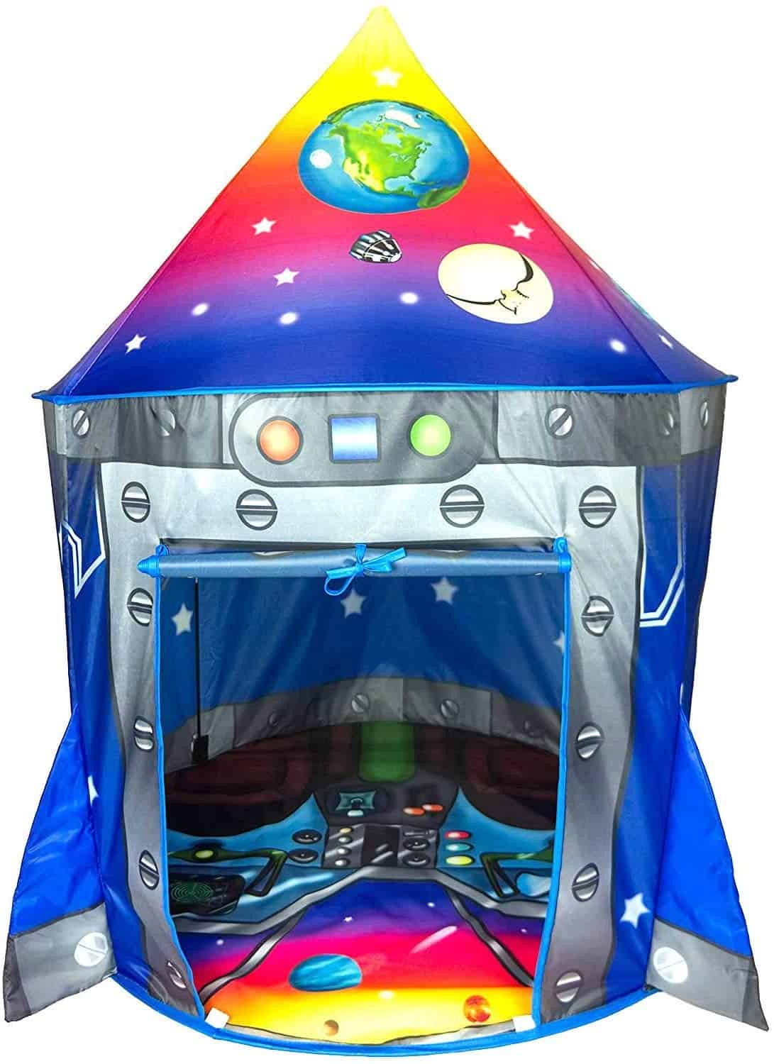 Rocket Ship Play Tent Playhouse by Imagenius Toys