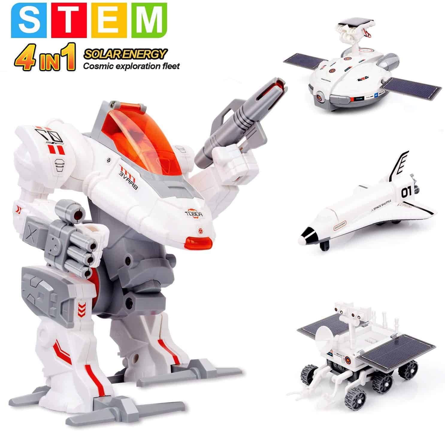 Sillbird STEM 4-in-1 Solar Science Robot kit for Kids