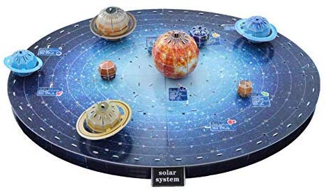 Space Kids Solar System Outer Space Puzzle