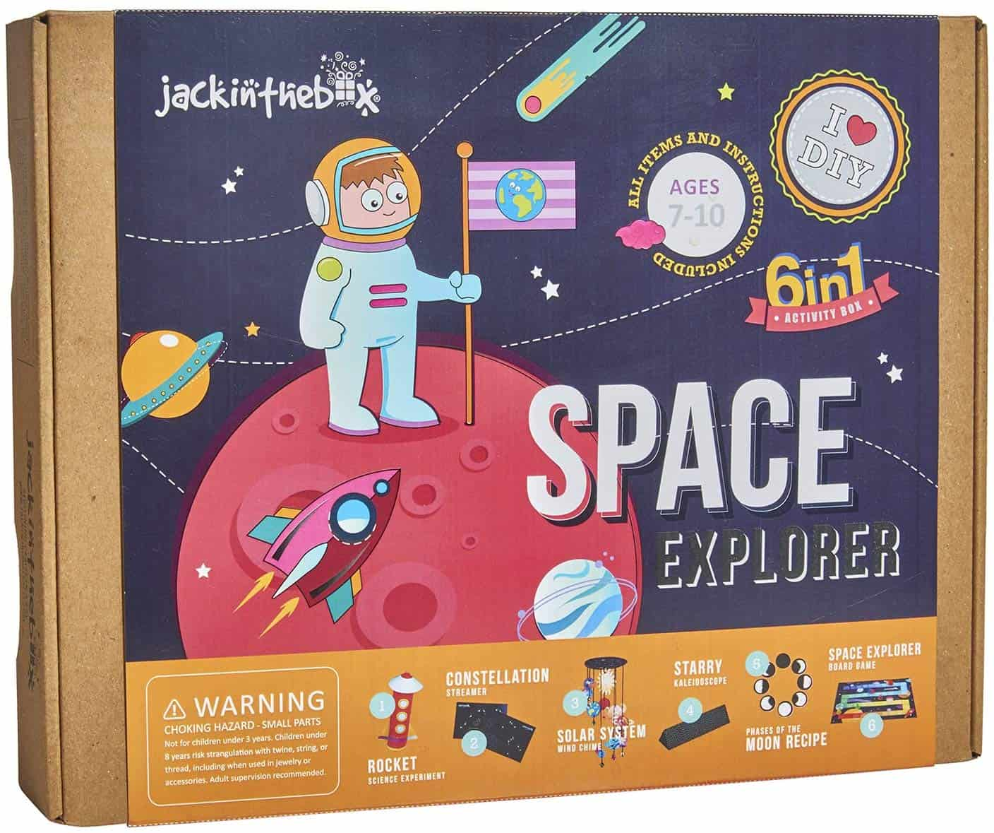 Space Themed Science Art Craft Toy