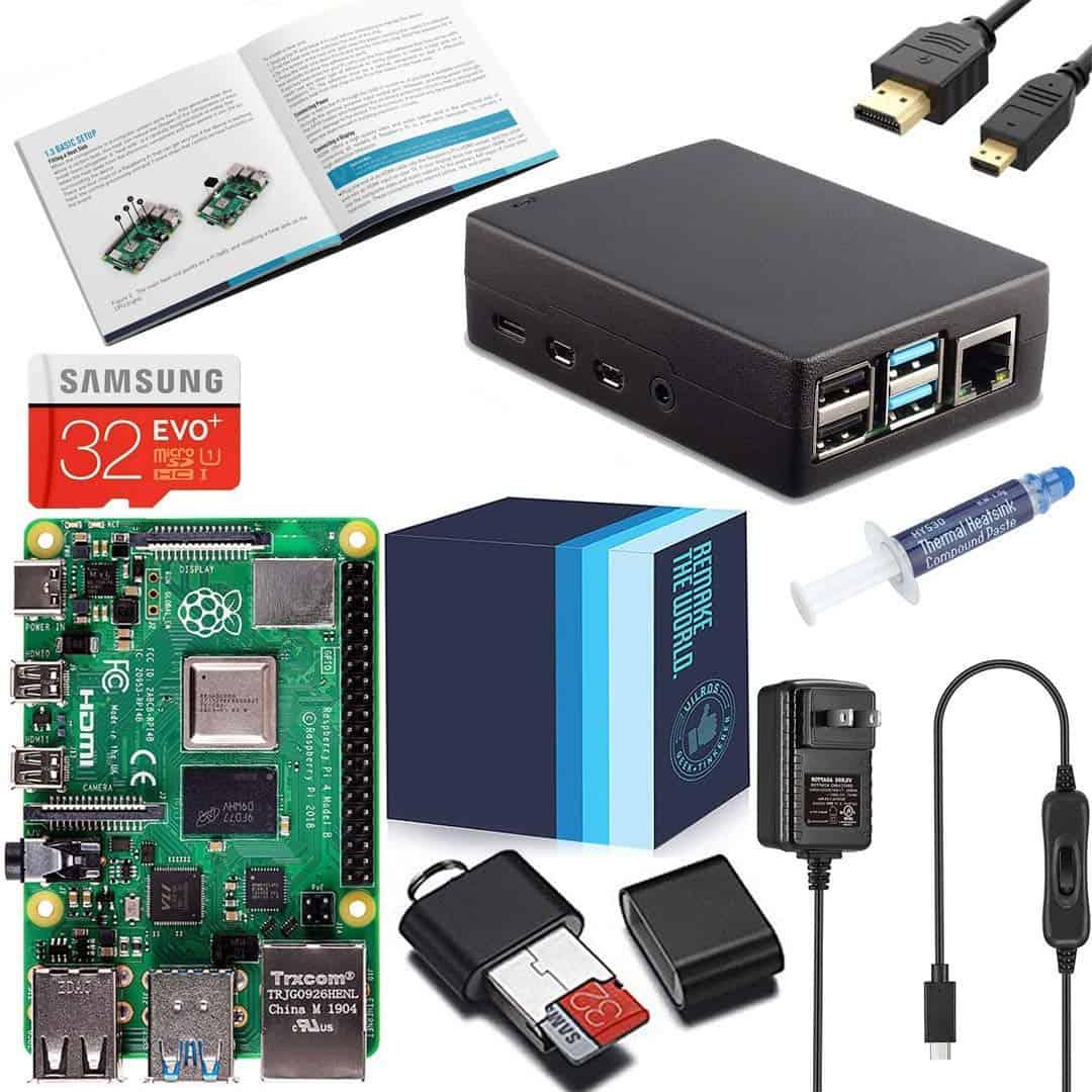Aluminum XTG Raspberry Pi Starter Kit- Vilros