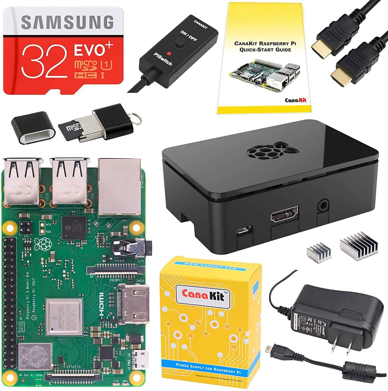 CanaKit Raspberry Pi 3 B+ (B Plus) Starter Kit
