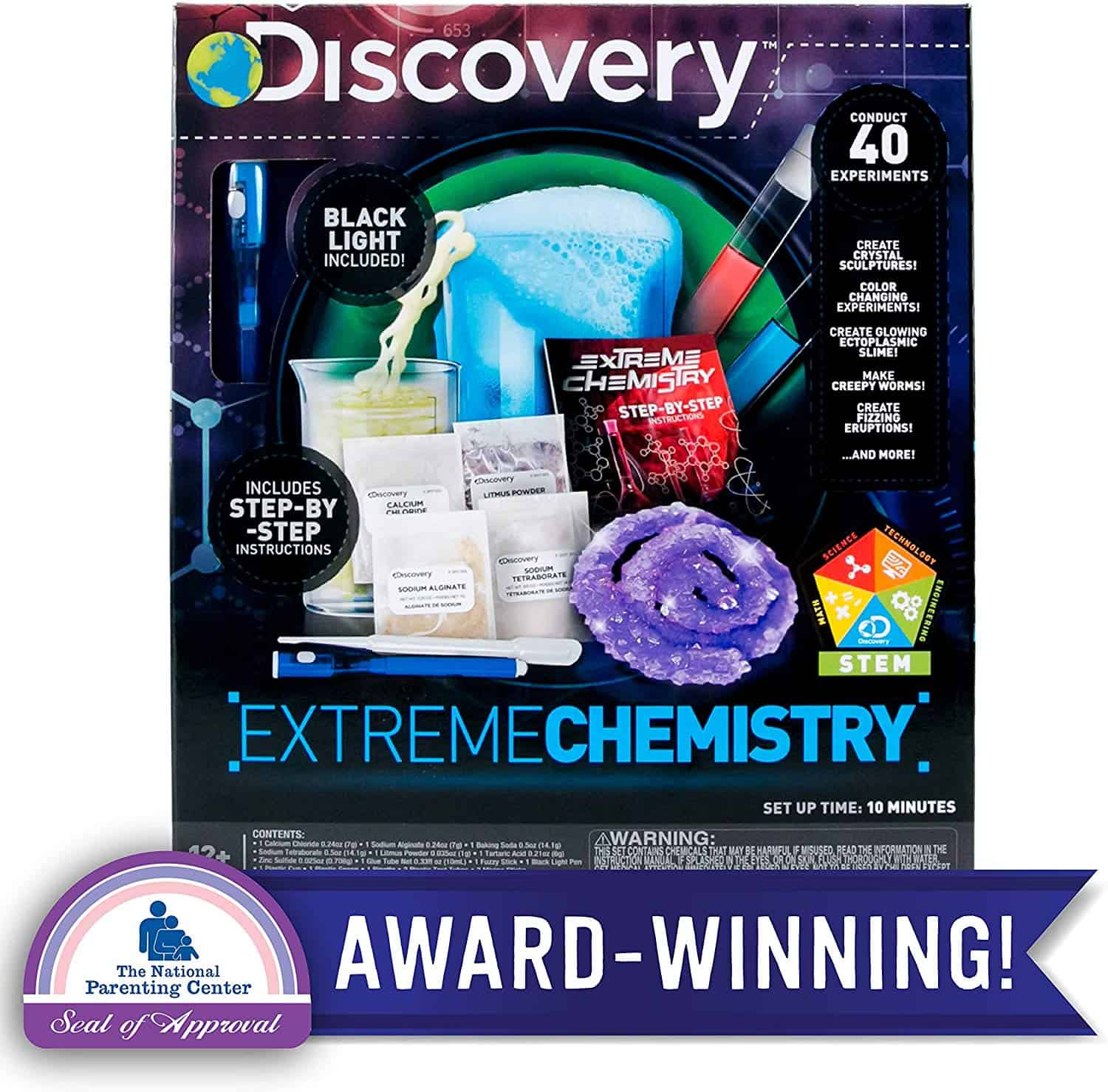 Discovery Extreme Chemistry Stem Science Kit