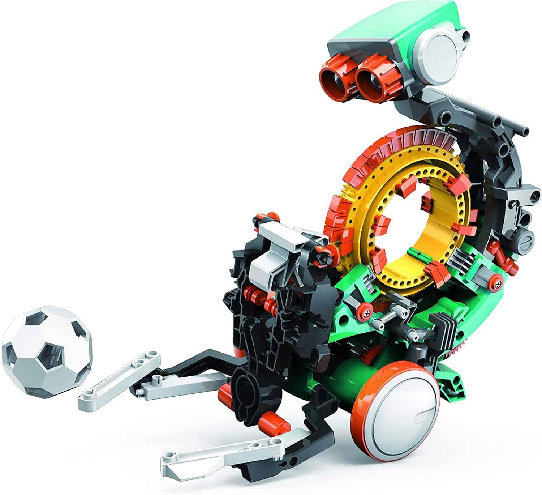 """Elenco Teach Tech """"Mech-5"""", Programmable Mechanical Robot Coding Kit"""