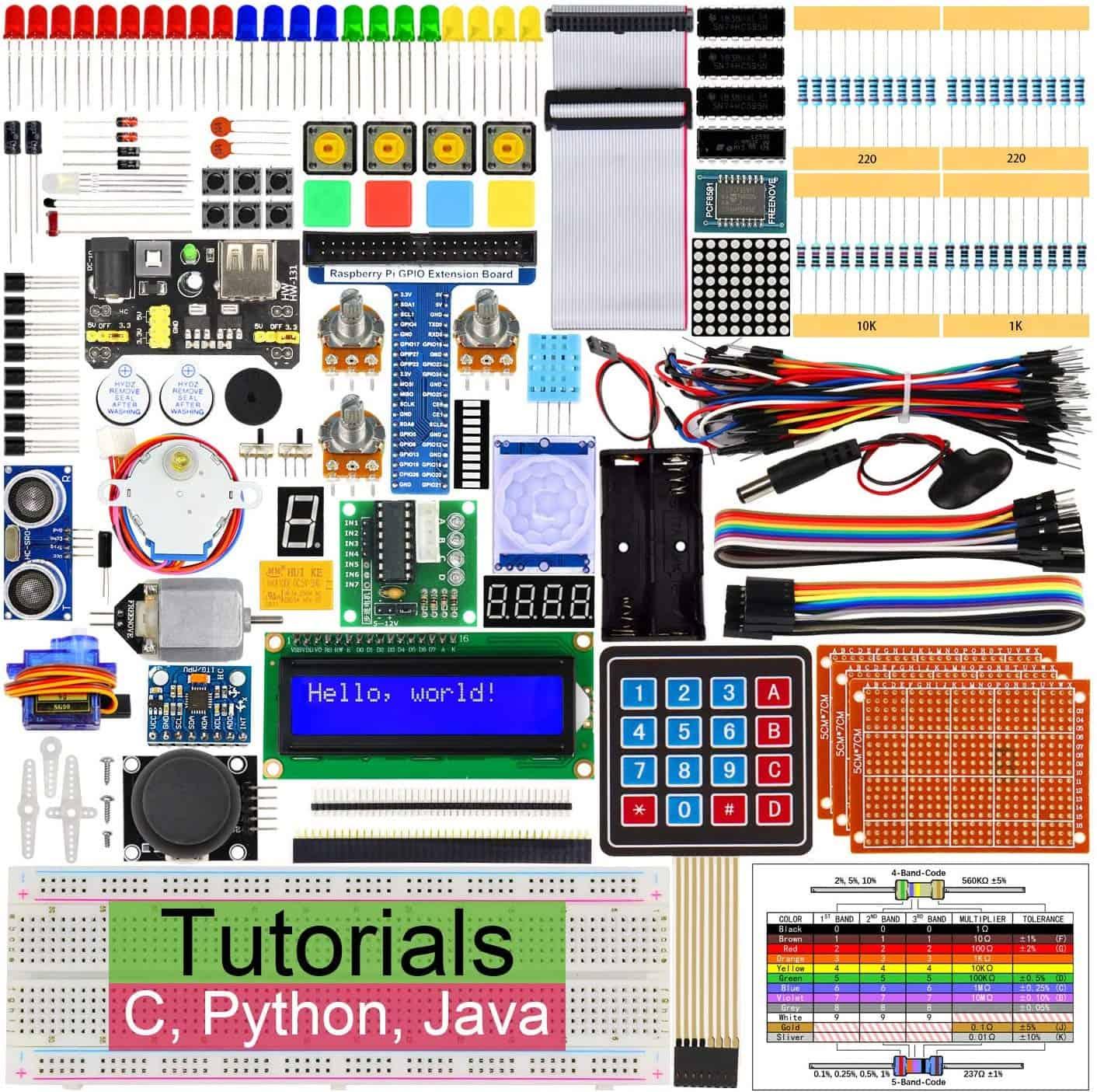 Freenove Ultimate Starter Kit for Raspberry Pi