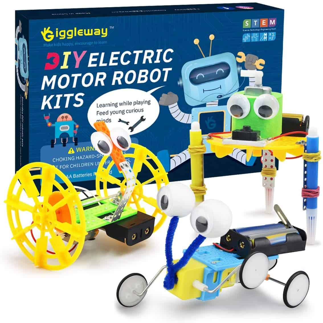 Giggleway Electric Motor Robotic Science Kits