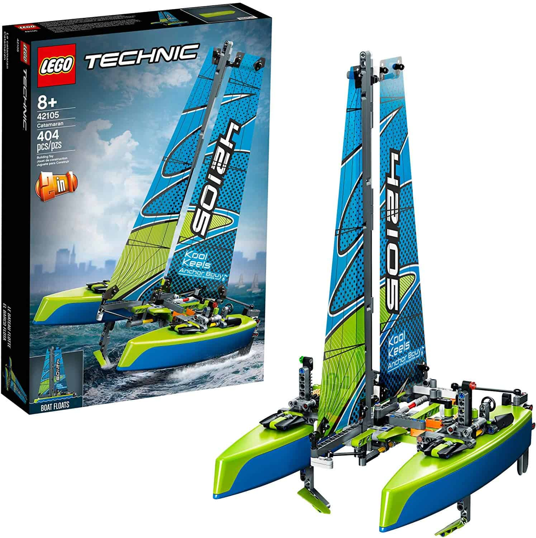 LEGO Technic Catamaran Sailboat Building Kit