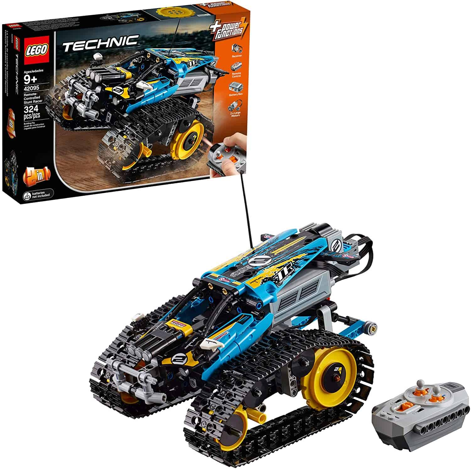 LEGO Technic Remote-Controlled Stunt Racer Building Kit