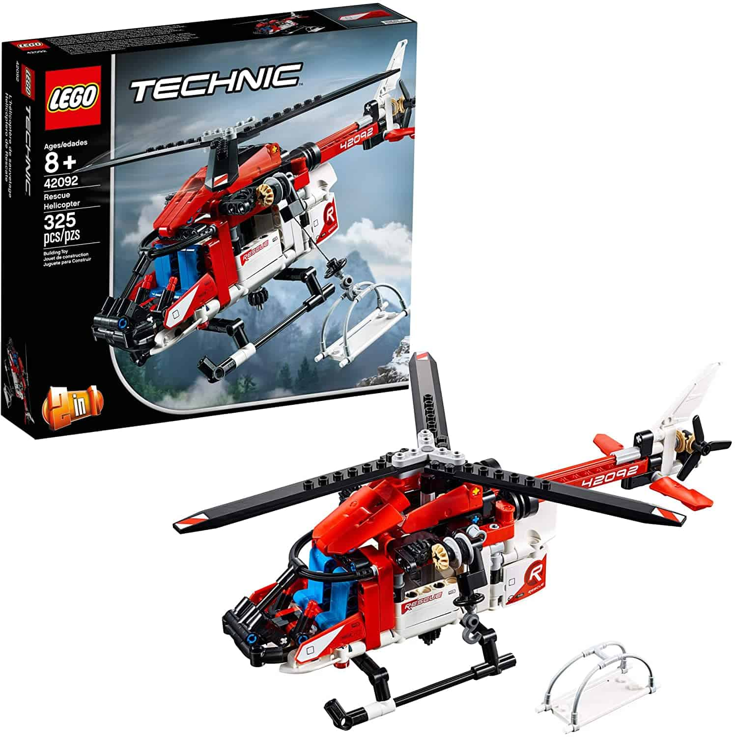 LEGO Technic Rescue Helicopter Building Kit