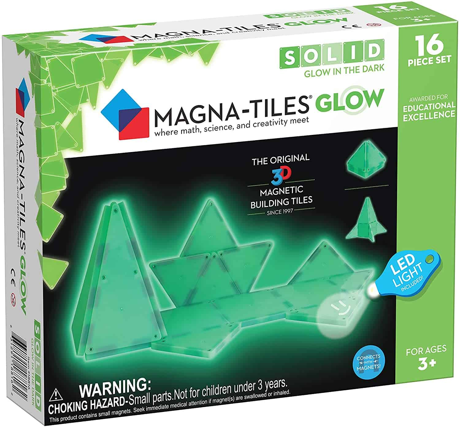 Magna Tiles Glow in The Dark Set