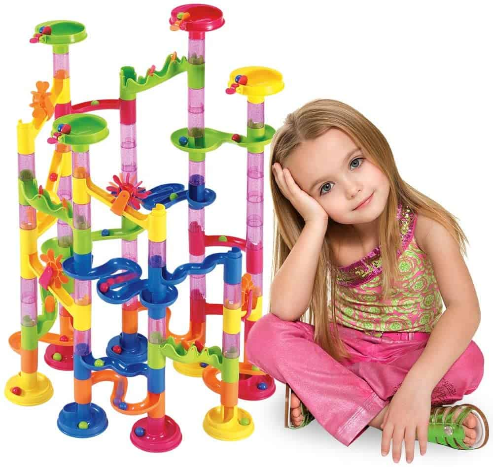 Marble Run Set Construction Building Blocks Toy