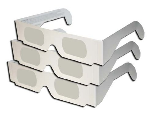 All white Eclipse Glasses Shades by American Paper Optics