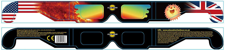 Education Harbour Limited Solar Eclipse Glasses