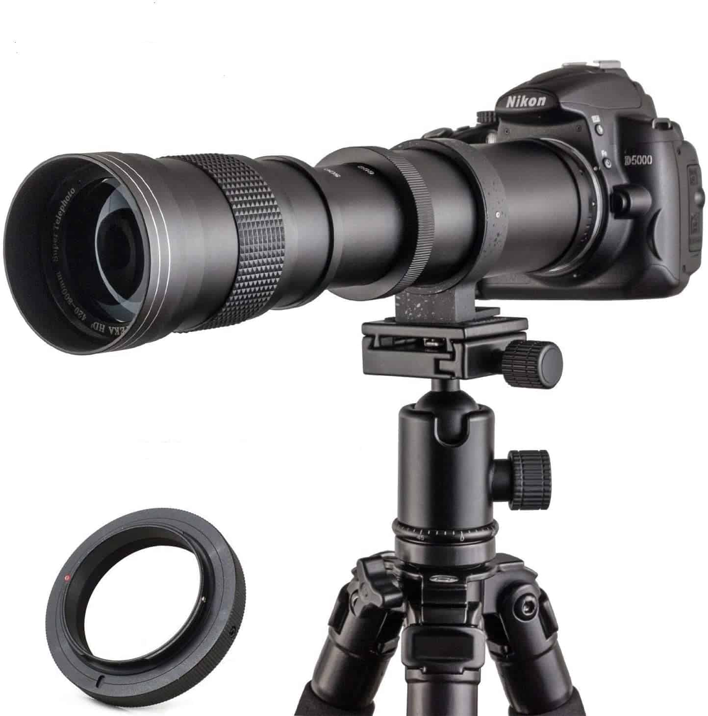 JINTU 420-800mm f8.3-F16 Lens