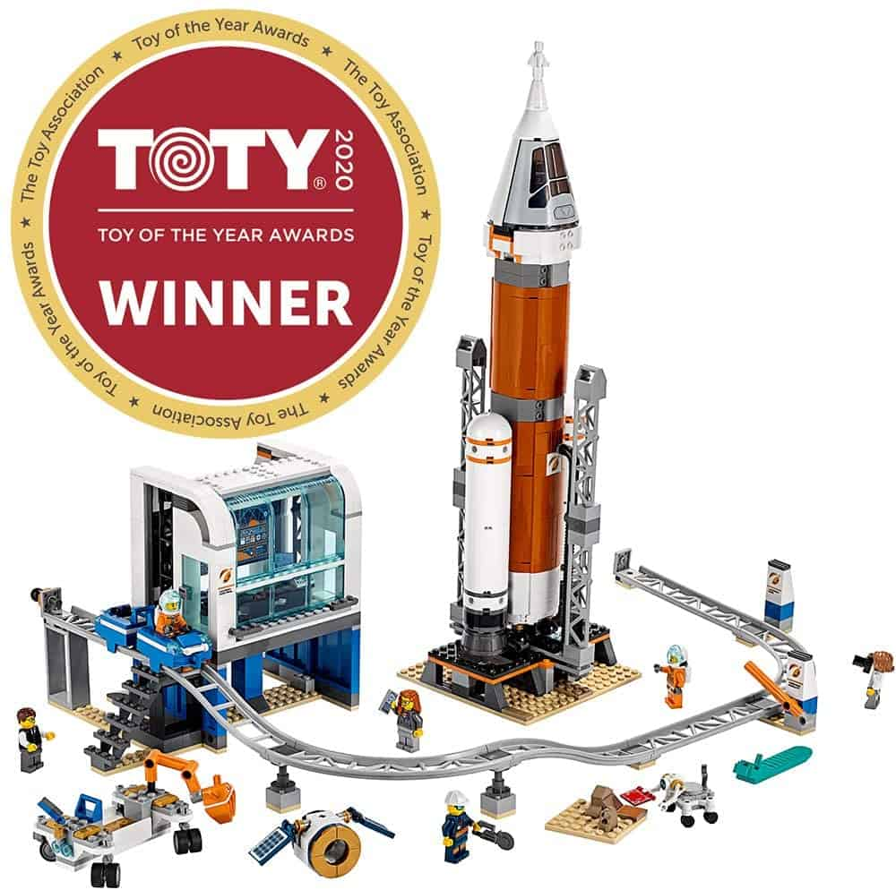 LEGO City Space Deep Space Rocket and Launch Control 60228 Model Rocket Building Kit