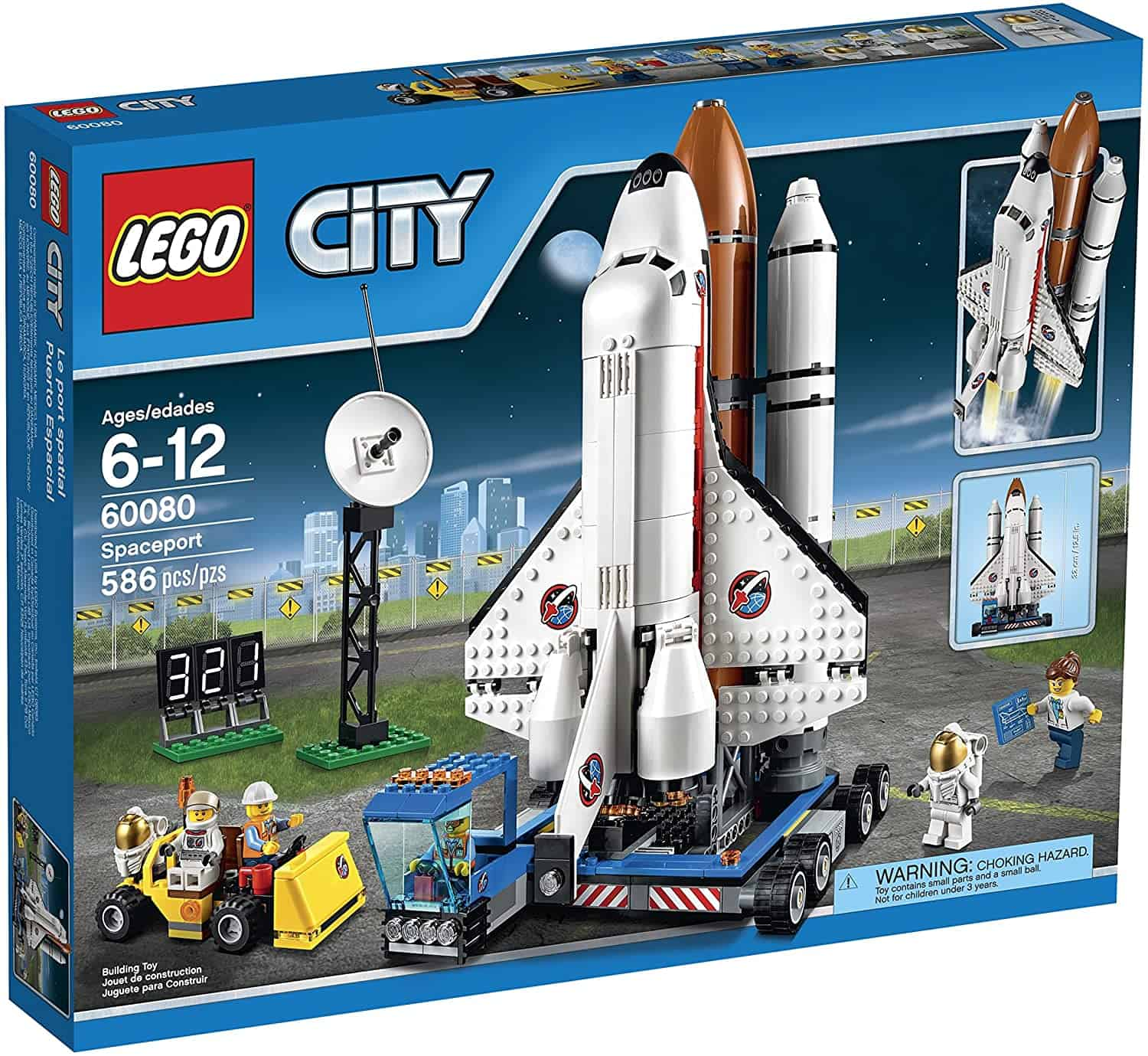 LEGO City Space Port 60080 Spaceport Building Kit