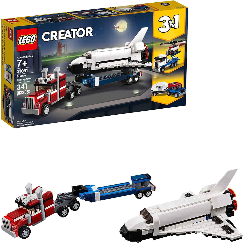 LEGO Creator 3 in1 Shuttle Transporter 31091 Building Kit