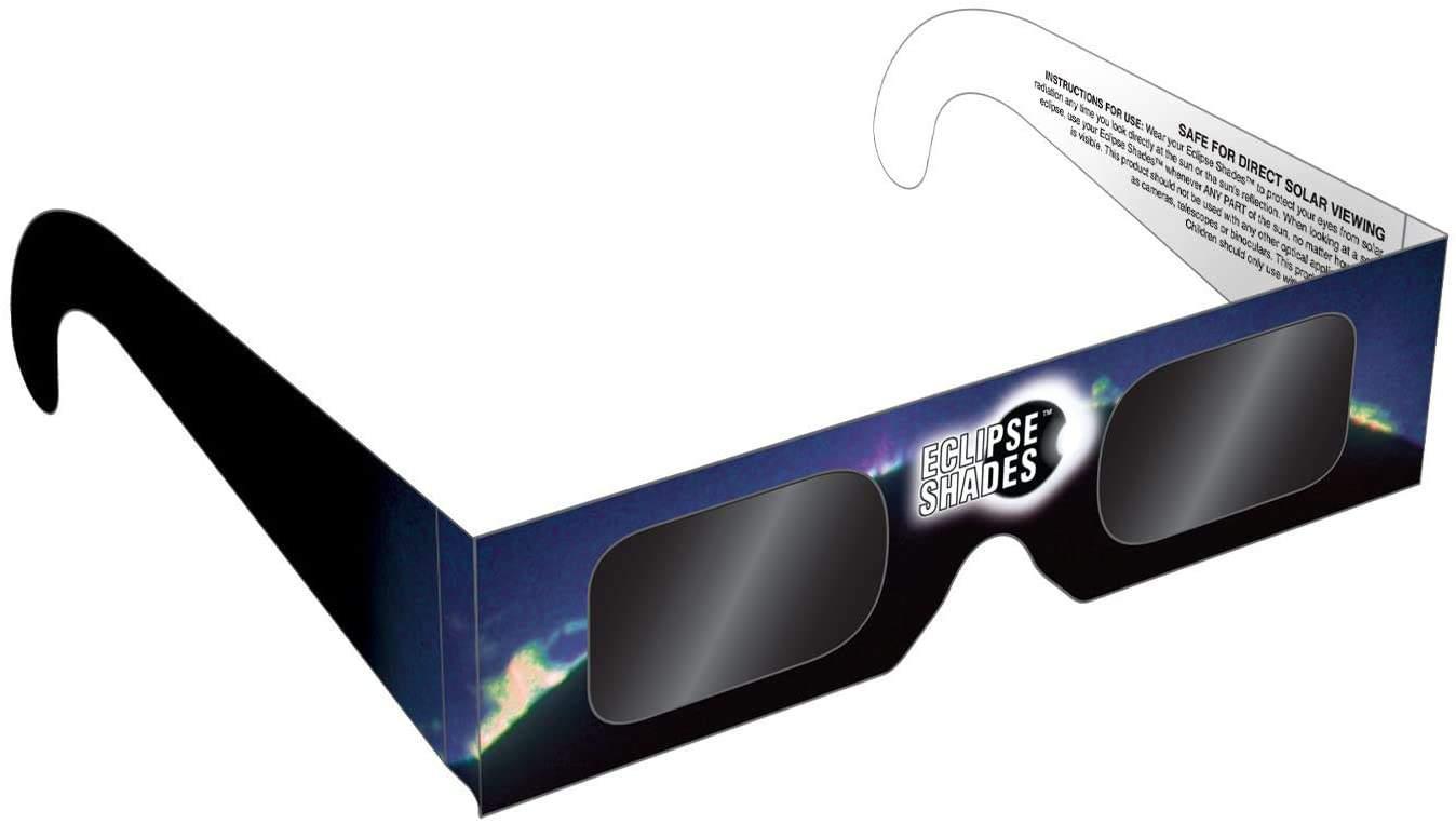 Plastic Eclipse Glasses – by Rainbow Symphony