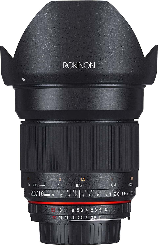 Rokinon 16MAF-N Lens