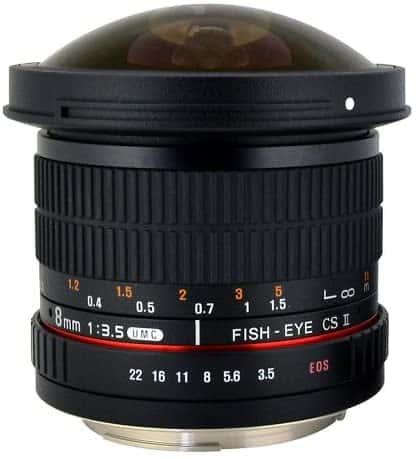 Rokinon HD8M-N Lens