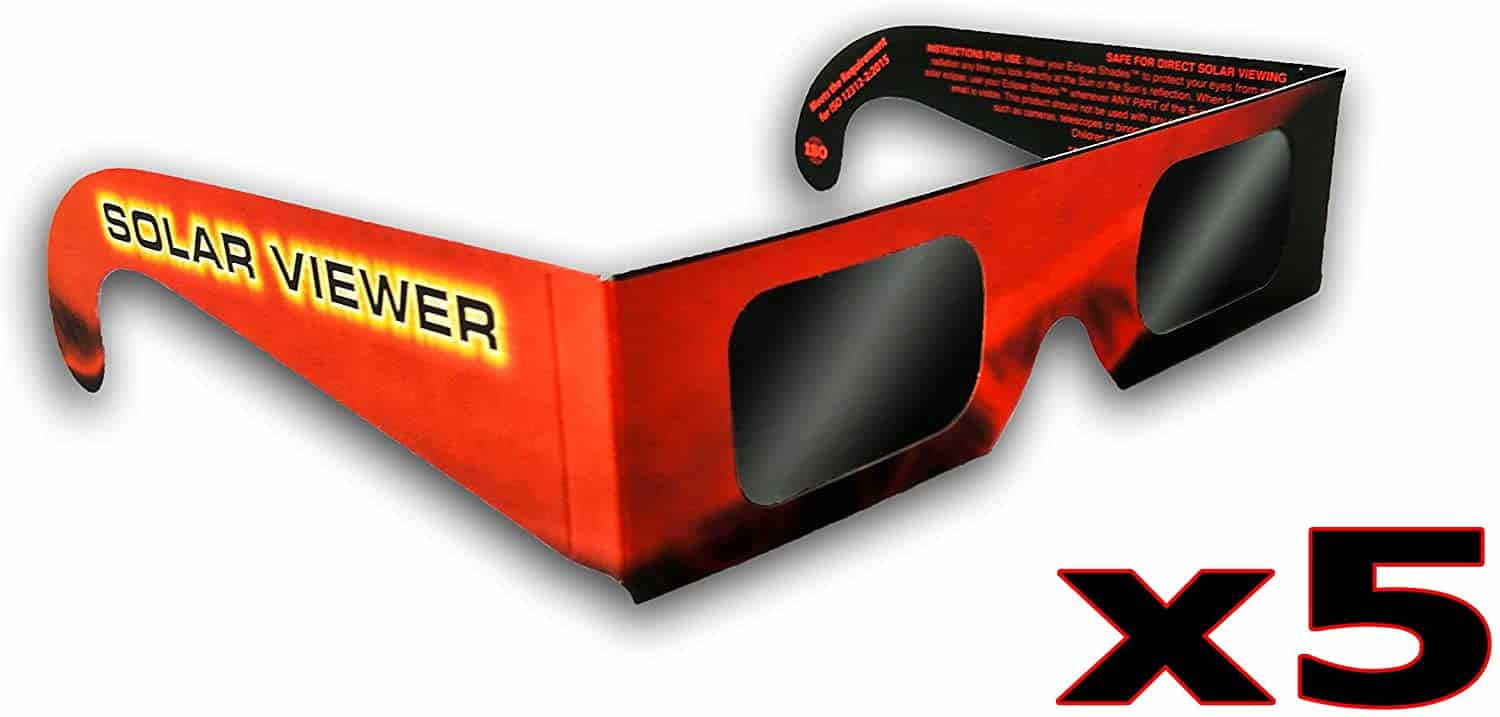 Solar Eclipse Glasses by Thousand Oaks Optical