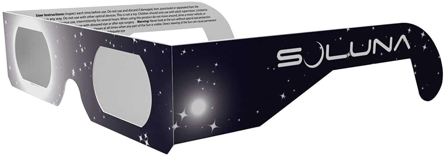 Soluna Solar Eclipse Glasses