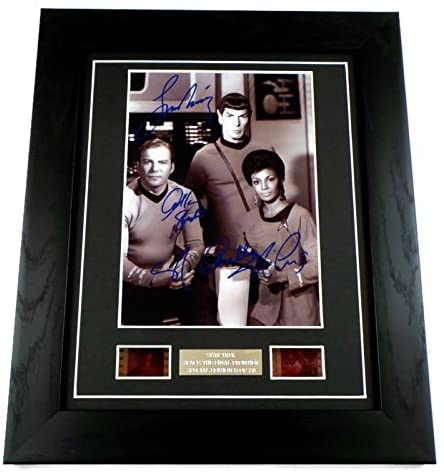 Star Trek Signed Space the Final Frontier Limited Edition