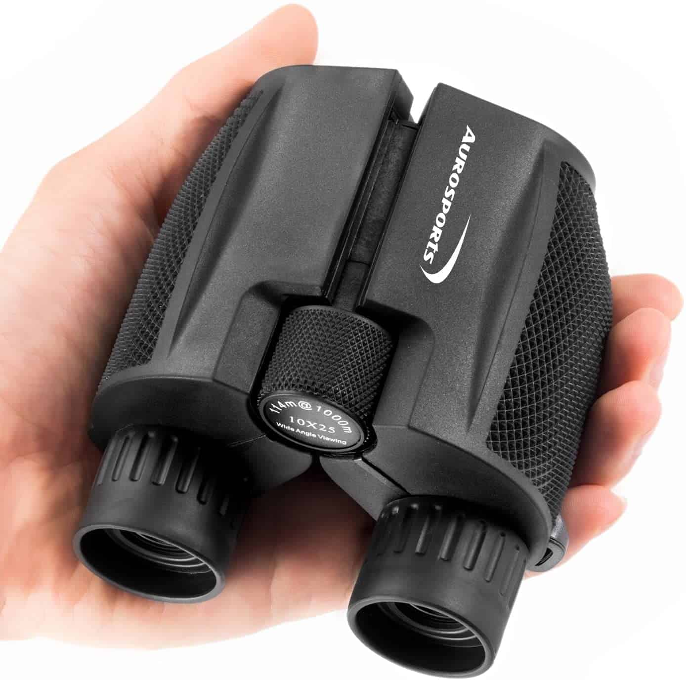 AuroSports 10×25 Compact Binoculars