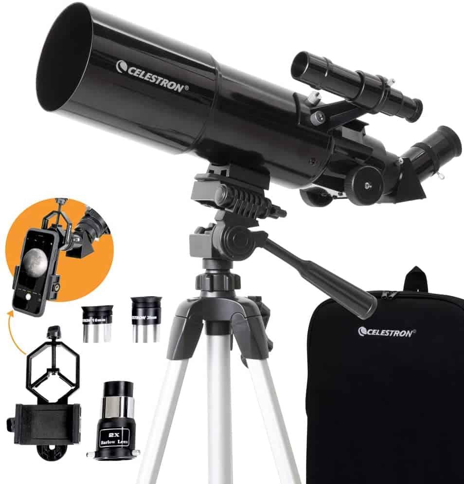 Celestron- 80mm Travel Scope Telescope