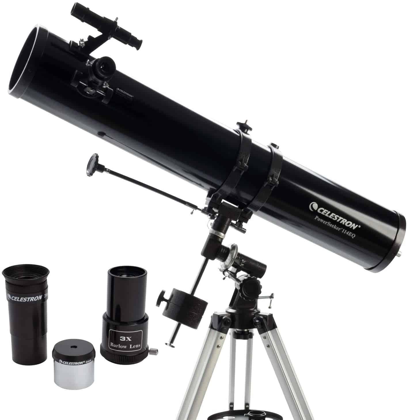 Celestron- PowerSeeker 114 EQ Telescope