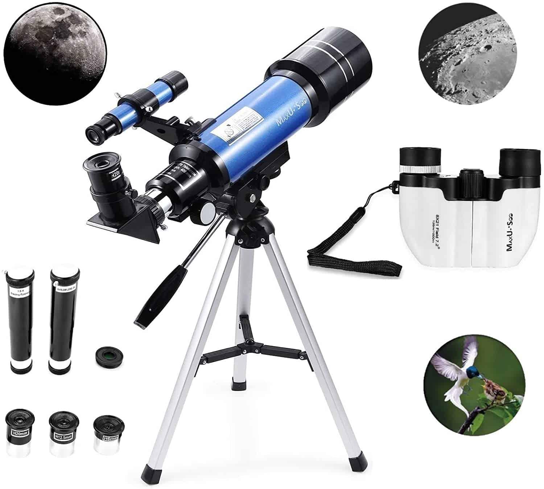 MaxUSee 70mm Telescope
