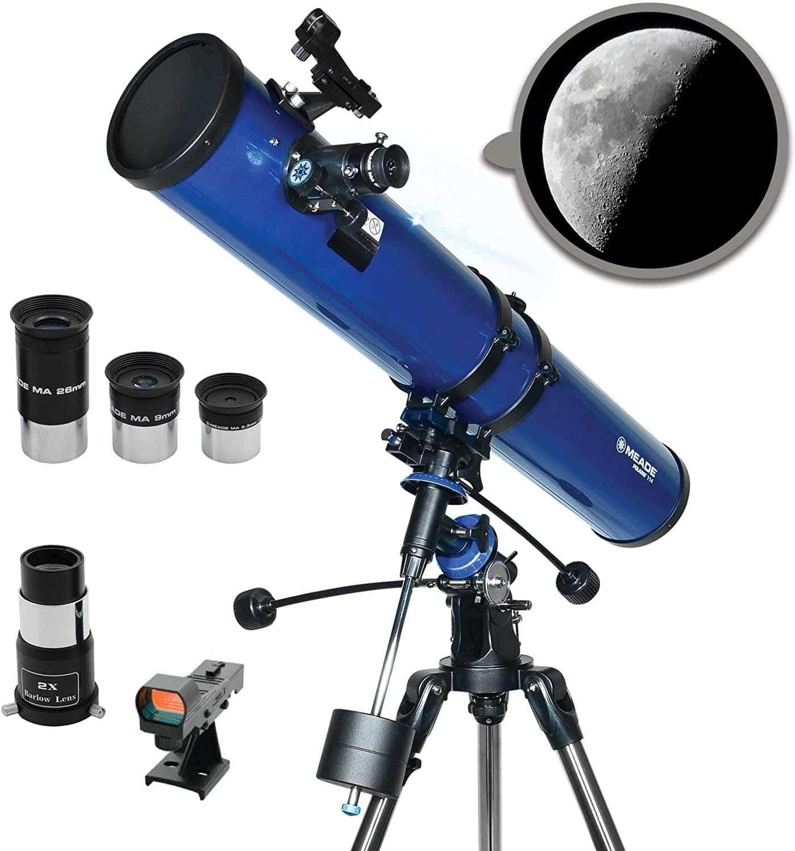 Meade Instruments- Polaris 114mm Portable Telescope