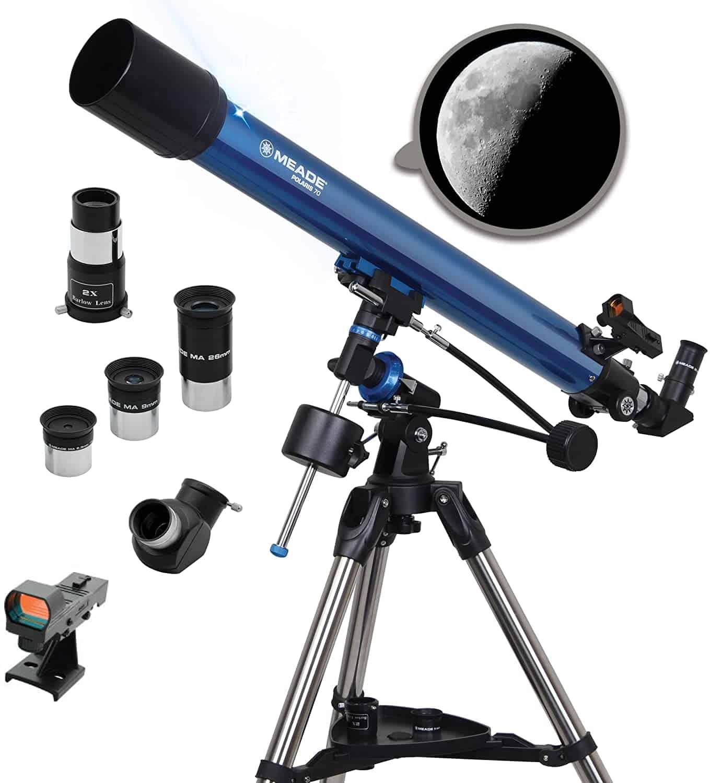 Meade Instruments Polaris 70mm Refracting Telescope