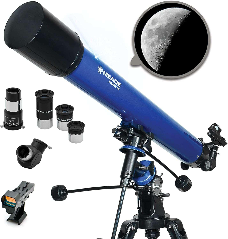 Meade Instruments- Polaris 90mm Aperture Astronomy Telescope