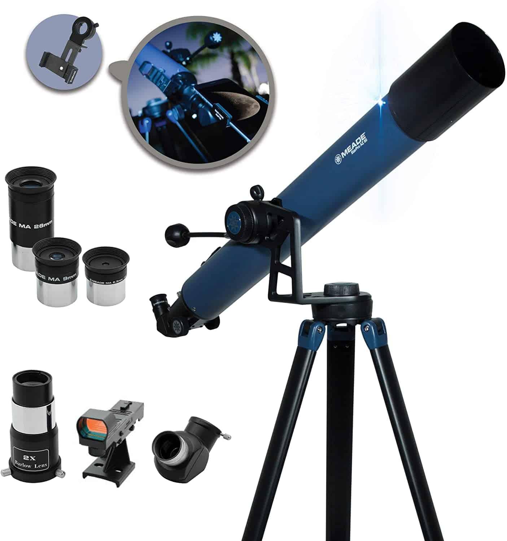 Meade Instruments StarPro AZ Refracting Telescope