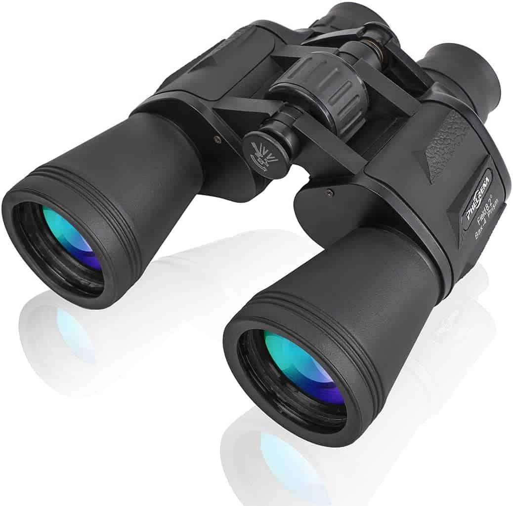 PHELRENA 20×50 Binoculars for Kids