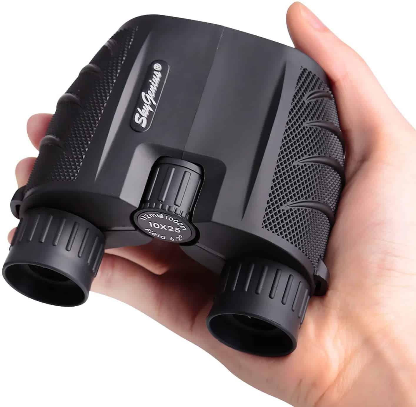 SkyGenius 10×25 Compact Binoculars