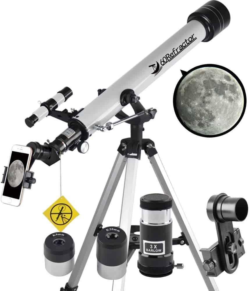 Telescope 60mm Aperture 700mm AZ Telescope