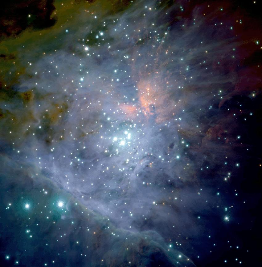 Orion Trapezium Cluster