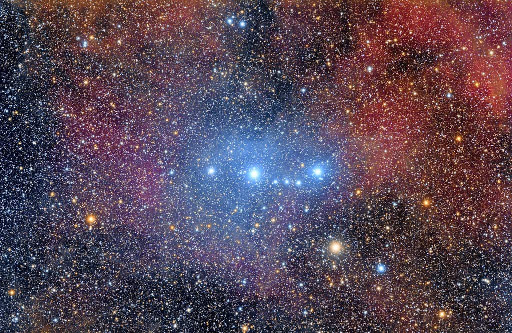 blue giant star of spectral type O8 III